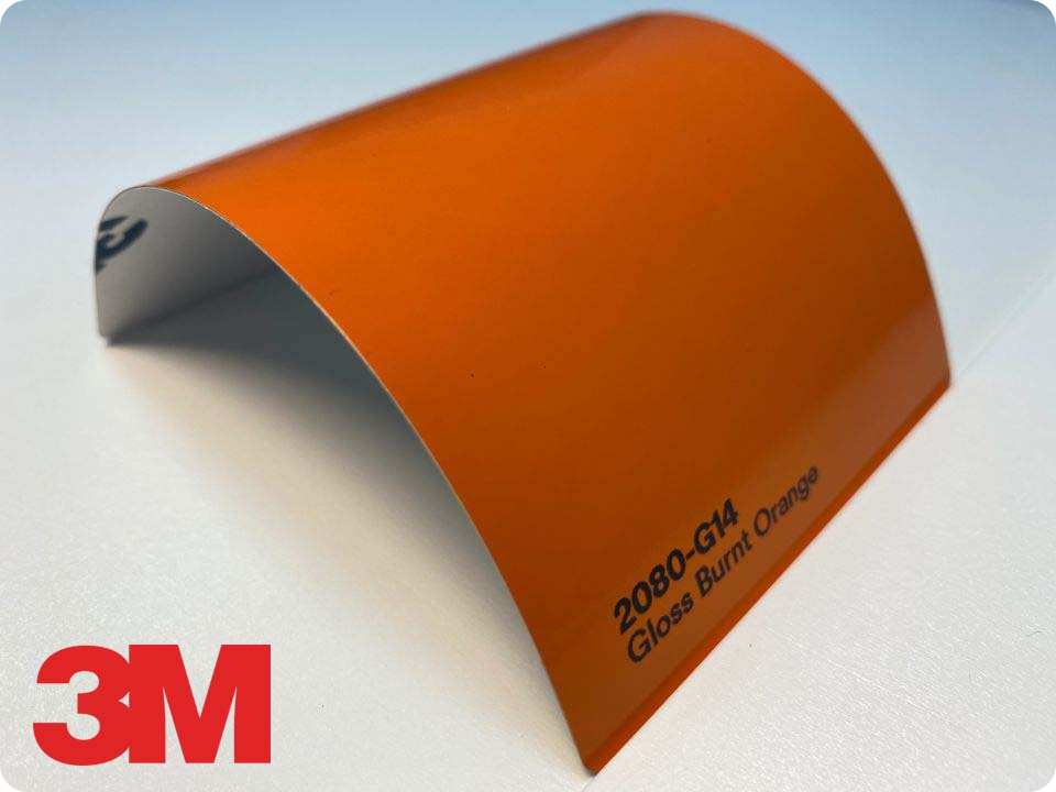 3M Wrap Film Series 2080-G14, Gloss Burnt Orange