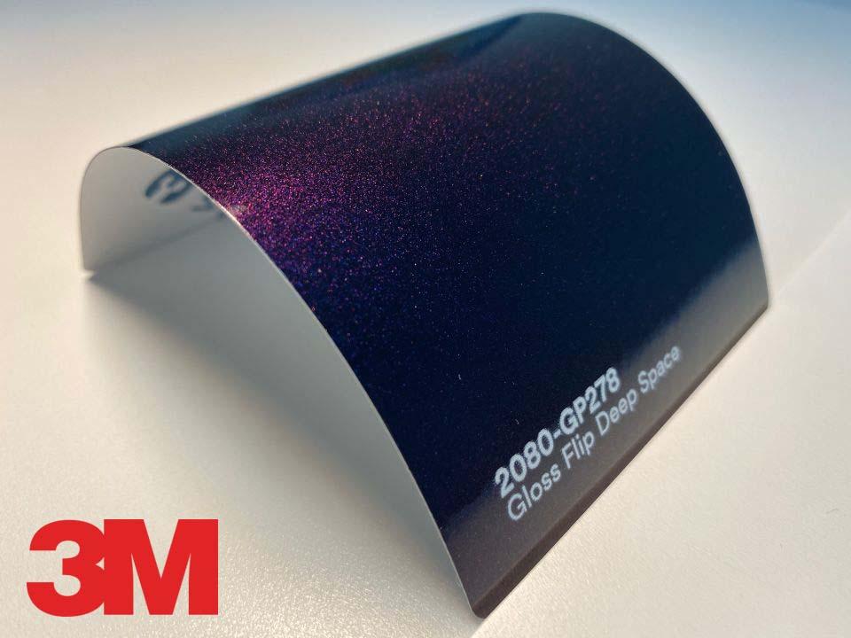3M Wrap Film Series 2080-GP278, Gloss Flip Deep Space