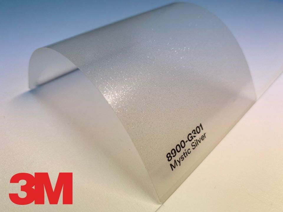 3M Wrap Overlaminate 8900-G301, Gloss Mystic Silver