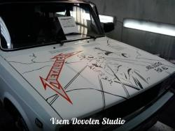 """(ВИНИЛ) Lada METALLICA """"And justice for all.."""""""